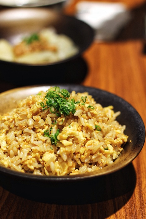 Japanese Garlic Fried Rice (S$5.80)